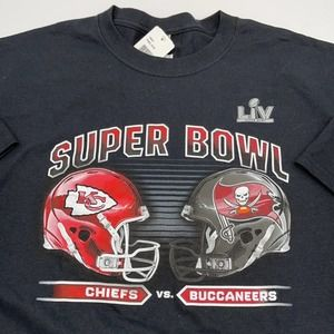 CHIEFS vs BUCANEERS NFL t-shirt size XL NEW
